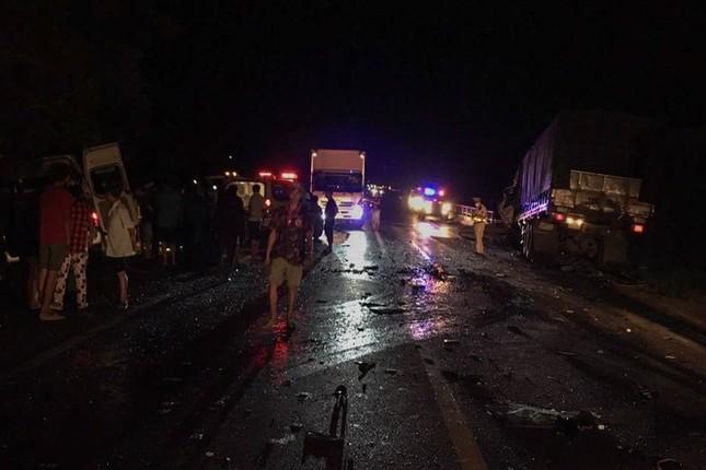 Danh tính 8 nạn nhân tử vong trong vụ tai nạn thảm khốc ở Bình Thuận ảnh 1