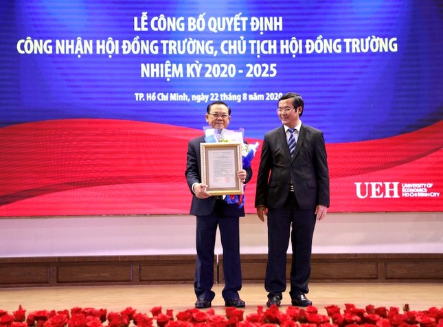 Trường ĐH Kinh tế TP. HCM ra mắt Hội đồng trường, nhiệm kỳ 2020-2025 ảnh 2