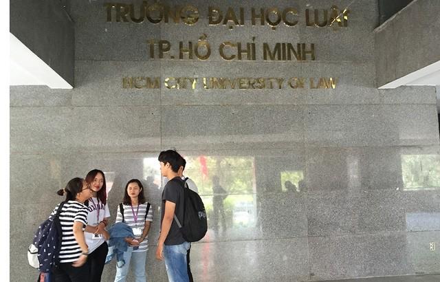 Trường ĐH Luật TP. HCM công bố điểm sàn 2020 ảnh 2