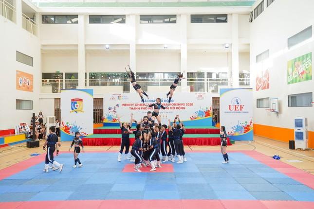 """11 đội tranh tài Giải thể dục cổ động """"Infinity Cheerleading Championships 2020"""" ảnh 1"""