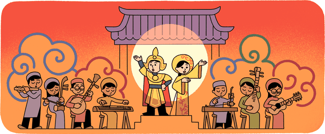 Google thay đổi biểu tượng, tôn vinh nghệ thuật cải lương Việt Nam ảnh 1
