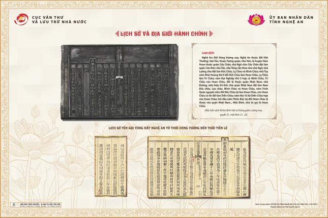 Hé lộ nhiều sử liệu quí về Nghệ An trong Mộc bản triều Nguyễn ảnh 1