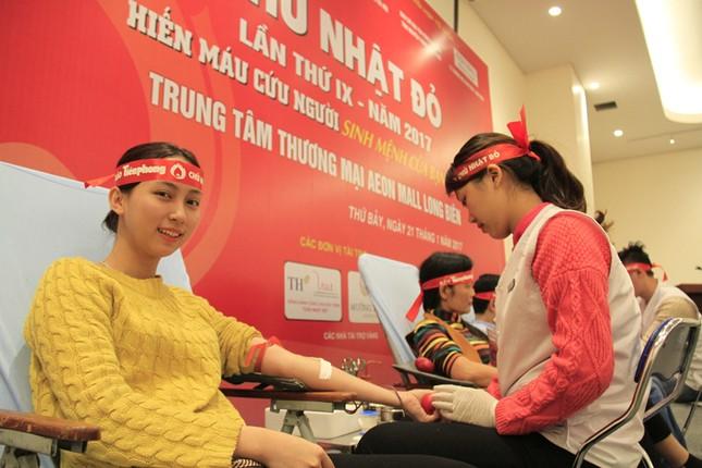 Lần đầu tiên doanh nghiệp FDI tham gia Chủ Nhật Đỏ ảnh 7