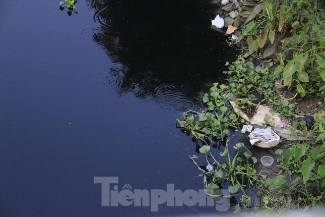 Cả dòng sông đen kịt, bốc mùi hôi thối ở Hải Dương ảnh 9