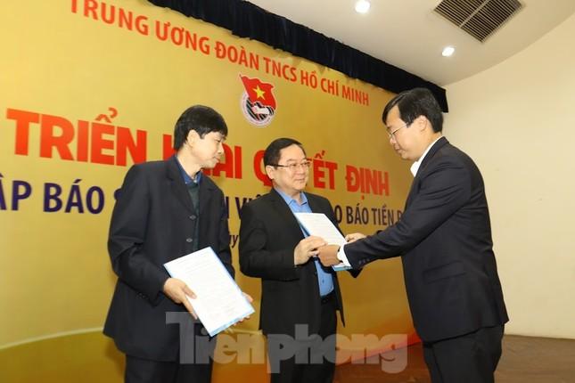 Sáp nhập báo Sinh viên Việt Nam vào báo Tiền Phong ảnh 2