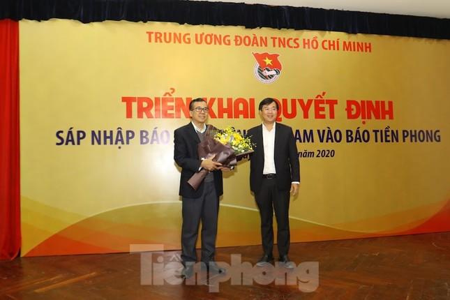 Sáp nhập báo Sinh viên Việt Nam vào báo Tiền Phong ảnh 3