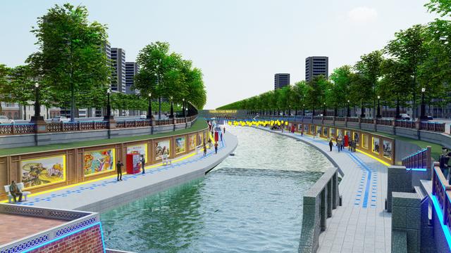 Đề xuất cải tạo sông Tô Lịch thành công viên lịch sử - văn hoá - tâm linh ảnh 1