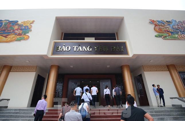 Thăm bảo tàng 'hoành tráng' vừa khánh thành chào mừng ĐH Đảng bộ tỉnh Yên Bái ảnh 1