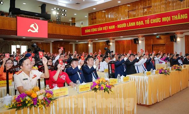 Bầu 15 người tham gia Đoàn Chủ tịch Đại hội Đảng bộ tỉnh Yên Bái ảnh 5