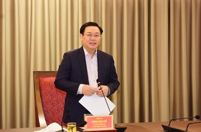 Bí thư Vương Đình Huệ: Nhân sự đại hội Đảng bộ Hà Nội được xem xét thấu đáo ảnh 1