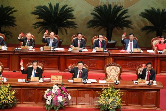 Bầu Ban chấp hành Đảng bộ thành phố Hà Nội khóa XVII ảnh 1