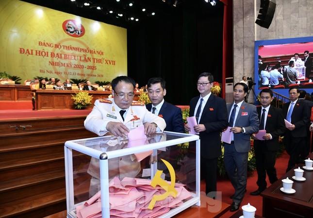 Bầu Ban chấp hành Đảng bộ thành phố Hà Nội khóa XVII ảnh 6