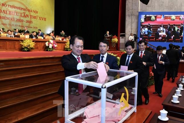 Bầu Ban chấp hành Đảng bộ thành phố Hà Nội khóa XVII ảnh 7
