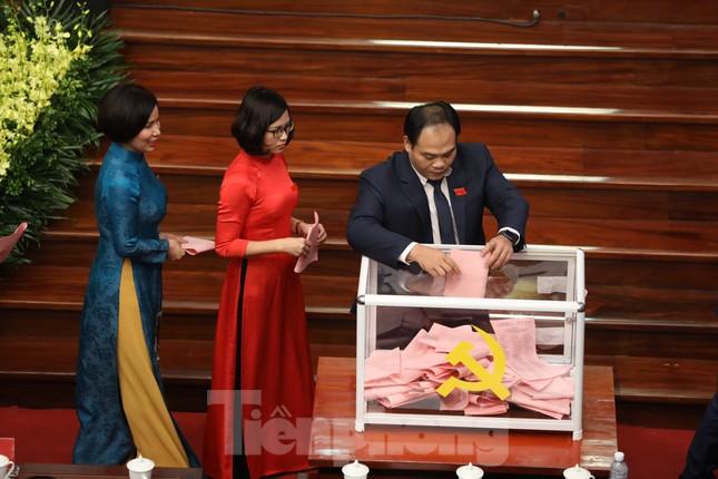 Bầu Ban chấp hành Đảng bộ thành phố Hà Nội khóa XVII ảnh 8