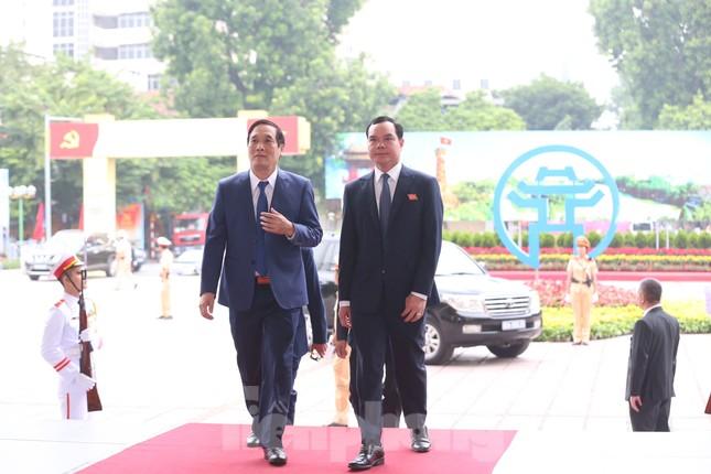 Tổng Bí thư, Chủ tịch nước dự phiên khai mạc Đại hội Đảng bộ TP Hà Nội ảnh 23