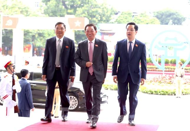 Tổng Bí thư, Chủ tịch nước dự phiên khai mạc Đại hội Đảng bộ TP Hà Nội ảnh 27