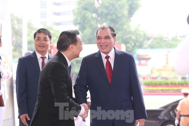 Tổng Bí thư, Chủ tịch nước dự phiên khai mạc Đại hội Đảng bộ TP Hà Nội ảnh 4