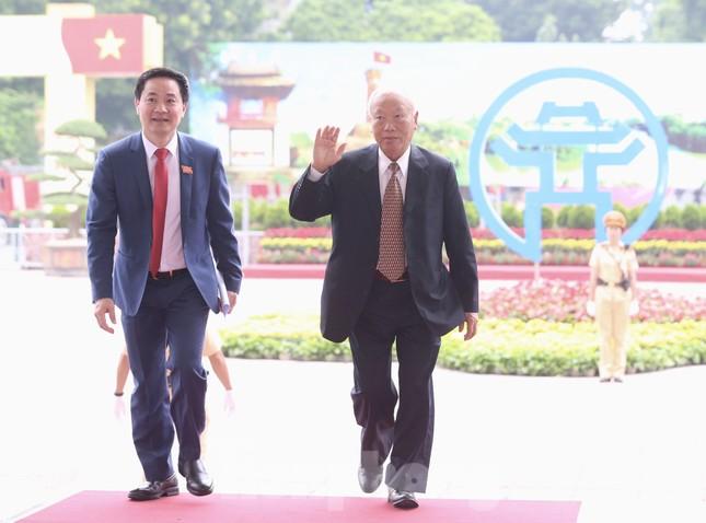 Tổng Bí thư, Chủ tịch nước dự phiên khai mạc Đại hội Đảng bộ TP Hà Nội ảnh 6