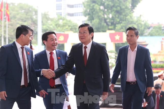 Tổng Bí thư, Chủ tịch nước dự phiên khai mạc Đại hội Đảng bộ TP Hà Nội ảnh 5