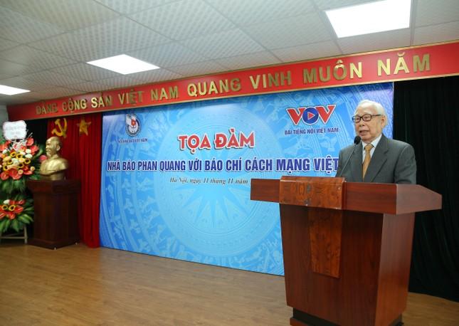 Nhà báo Phan Quang góp phần làm nên thay đổi to lớn của báo chí ảnh 2