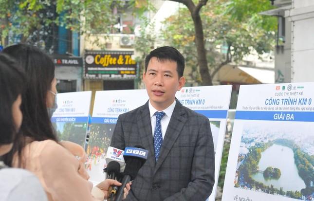 Hà Nội xin ý kiến người dân về cột mốc số 0 bên bờ hồ Gươm ảnh 2