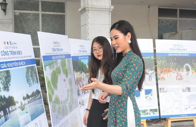 Hà Nội xin ý kiến người dân về cột mốc số 0 bên bờ hồ Gươm ảnh 1