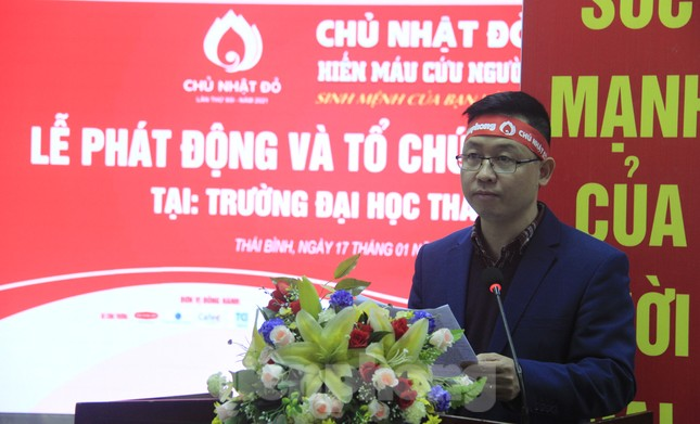 Khởi động chuỗi hiến máu Chủ nhật Đỏ ở Thái Bình ảnh 4