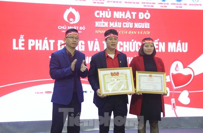 Khởi động chuỗi hiến máu Chủ nhật Đỏ ở Thái Bình ảnh 5