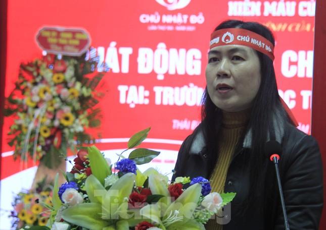 Khởi động chuỗi hiến máu Chủ nhật Đỏ ở Thái Bình ảnh 6