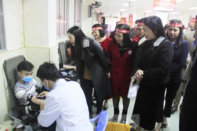 Khởi động chuỗi hiến máu Chủ nhật Đỏ ở Thái Bình ảnh 10
