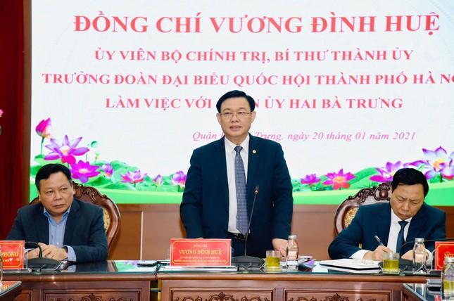 Bí thư Hà Nội: Nghiên cứu tổ chức phố đi bộ khu vực hồ Thiền Quang ảnh 1