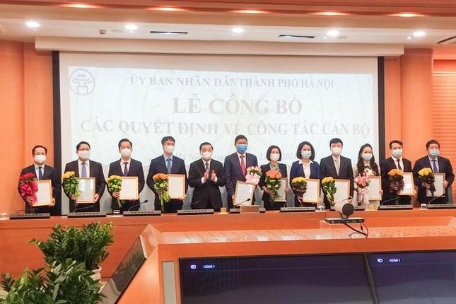 Hà Nội bổ nhiệm Chánh văn phòng UBND thành phố, Giám đốc Sở Y tế, VH&TT, Ngoại vụ ảnh 1