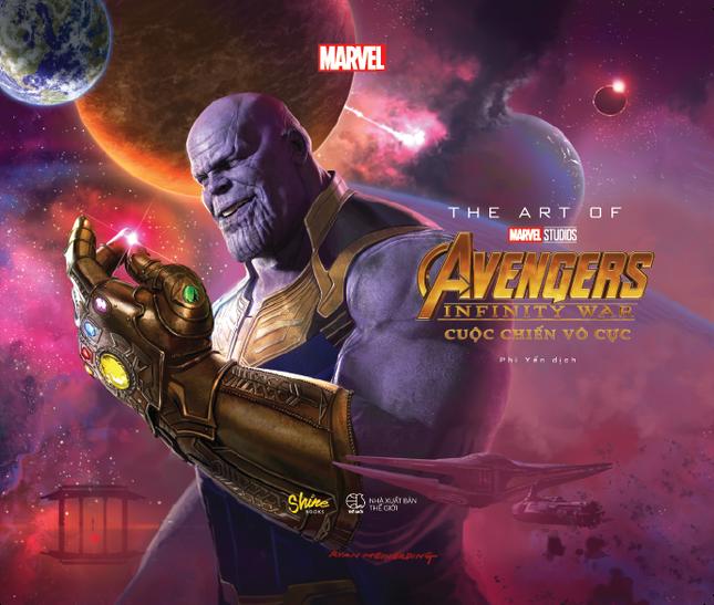 The Art Of Marvel Studios Avengers Infinity War (Cuộc Chiến Vô Cực) phát hành tại Việt Nam ảnh 1