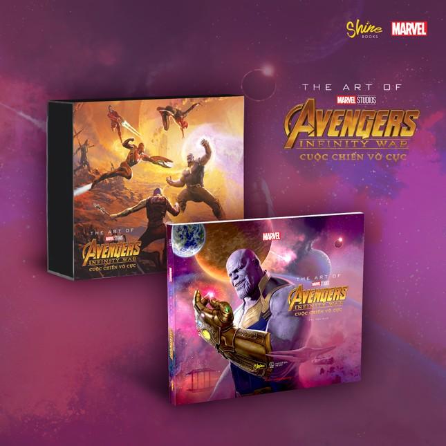 The Art Of Marvel Studios Avengers Infinity War (Cuộc Chiến Vô Cực) phát hành tại Việt Nam ảnh 4
