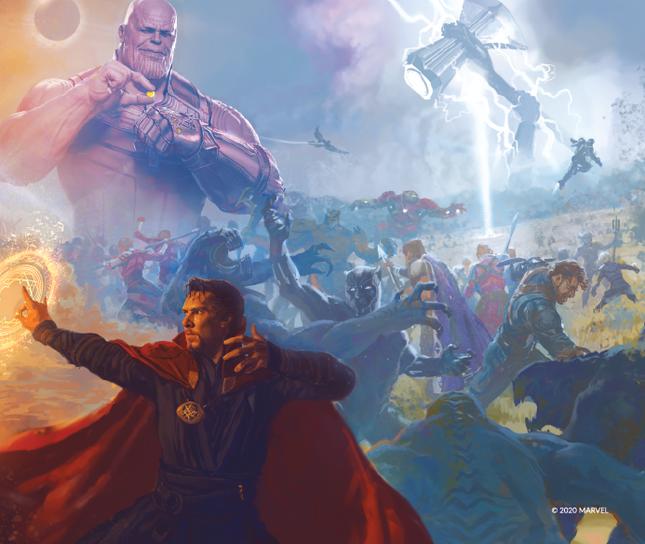 The Art Of Marvel Studios Avengers Infinity War (Cuộc Chiến Vô Cực) phát hành tại Việt Nam ảnh 3
