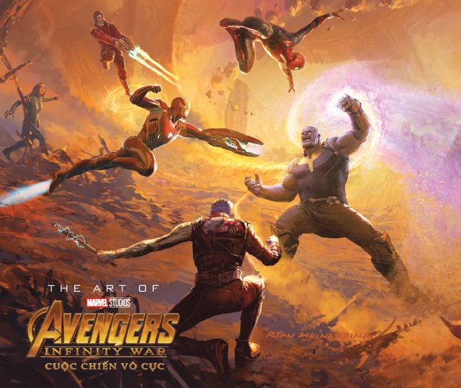 The Art Of Marvel Studios Avengers Infinity War (Cuộc Chiến Vô Cực) phát hành tại Việt Nam ảnh 2