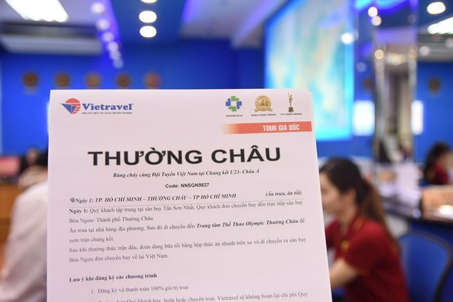 Thuê chuyên cơ tới Trung Quốc xem chung kết U23 Việt Nam ảnh 1