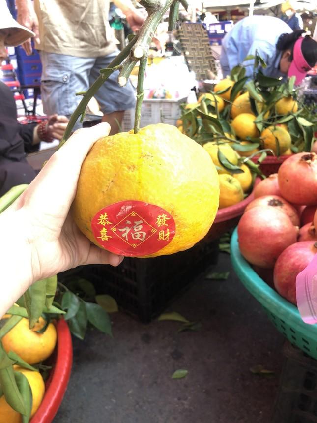 Trái cây 'khổng lồ' gắn mác ngoại bày bán giá rẻ trên vỉa hè Sài Gòn ảnh 5