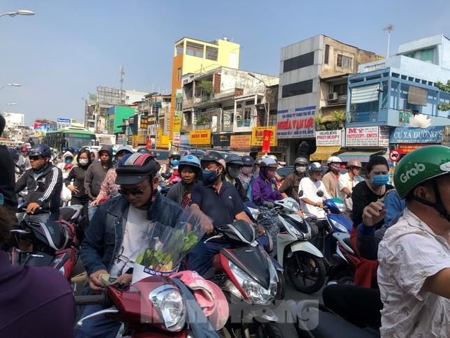 Nghìn nghịt người chen chân ở chợ hoa lớn nhất Sài Gòn ngày cuối năm ảnh 1