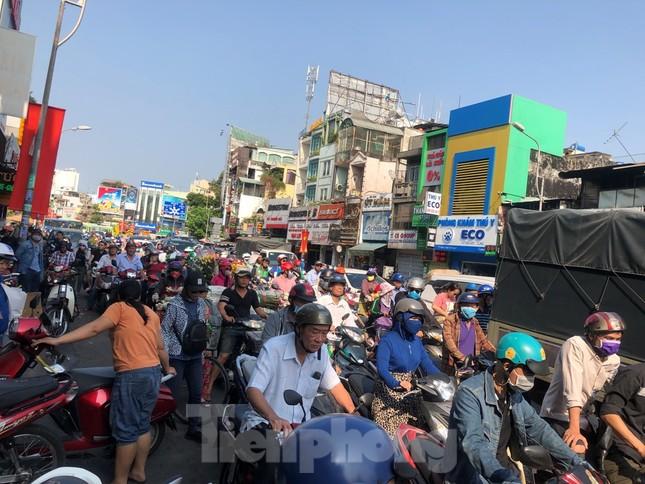 Nghìn nghịt người chen chân ở chợ hoa lớn nhất Sài Gòn ngày cuối năm ảnh 3