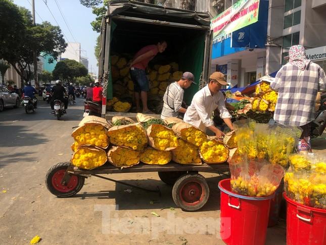 Nghìn nghịt người chen chân ở chợ hoa lớn nhất Sài Gòn ngày cuối năm ảnh 31