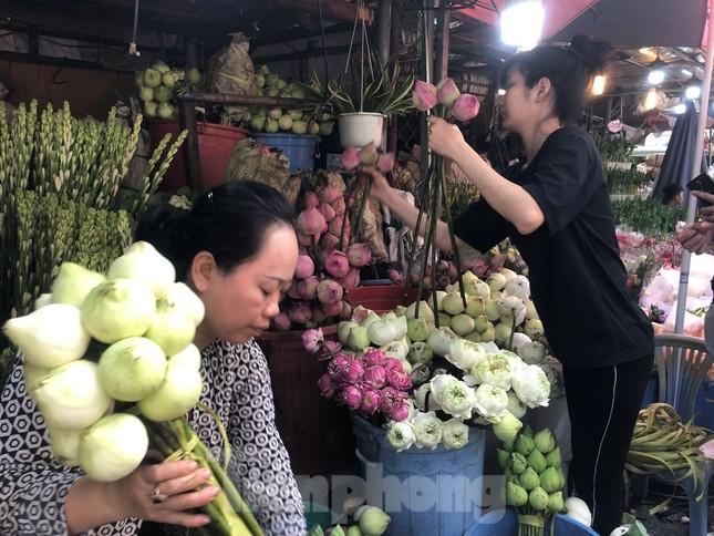 Nghìn nghịt người chen chân ở chợ hoa lớn nhất Sài Gòn ngày cuối năm ảnh 18