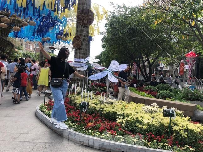 Vì sao tiểu cảnh ở phố đi bộ Nguyễn Huệ tả tơi ảnh 11
