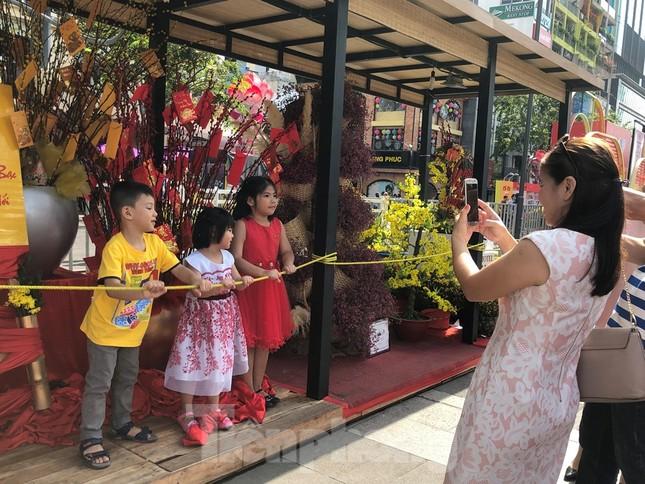 Vì sao tiểu cảnh ở phố đi bộ Nguyễn Huệ tả tơi ảnh 9
