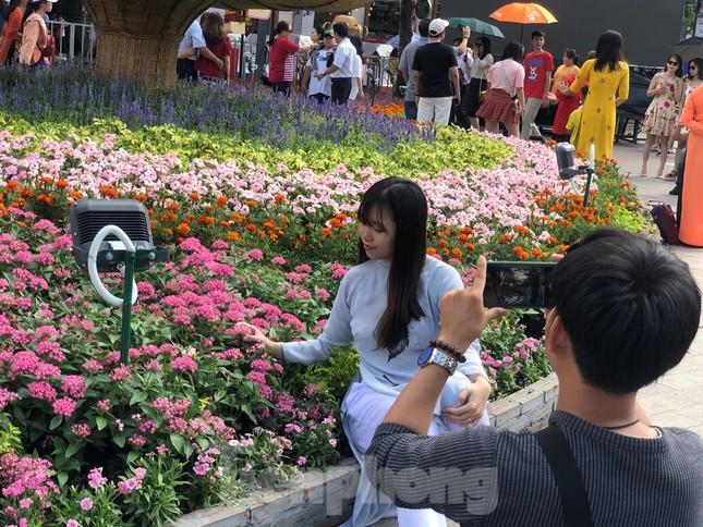 Vì sao tiểu cảnh ở phố đi bộ Nguyễn Huệ tả tơi ảnh 23