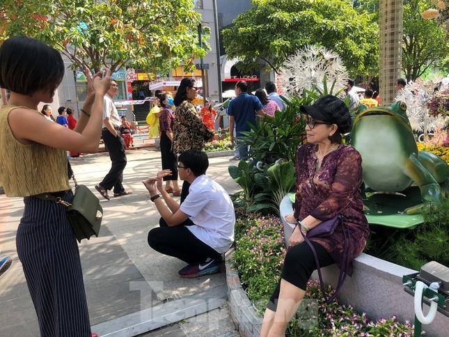 Vì sao tiểu cảnh ở phố đi bộ Nguyễn Huệ tả tơi ảnh 24