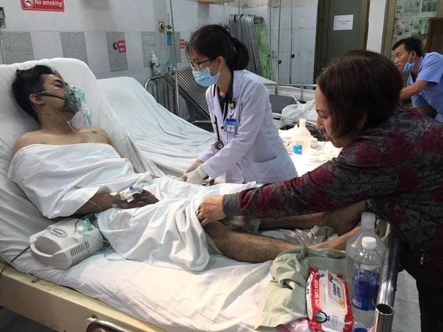 Hàng chục nạn nhân vụ cháy chung cư vẫn đang điều trị tại bệnh viện ảnh 5