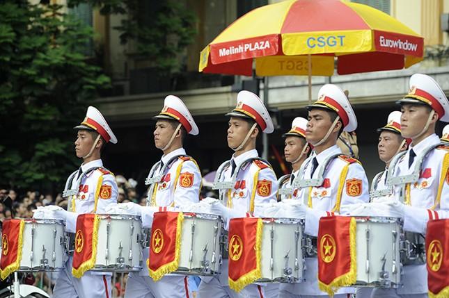 Oai phong khối Quân nhạc trong ngày Tết Độc lập ảnh 3