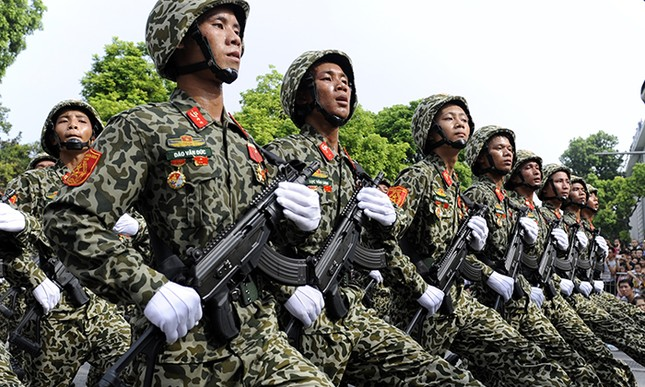 Xem lính đặc công oai phong mừng ngày Quốc khánh ảnh 4
