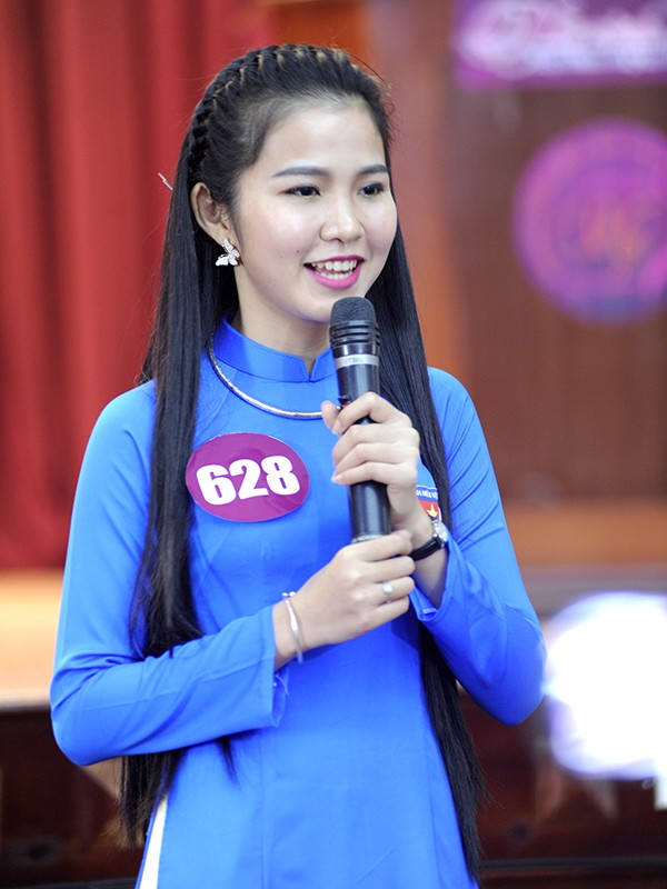 Gần 200 thí sinh Nữ sinh viên Việt Nam duyên dáng khoe nét cá tính ảnh 9